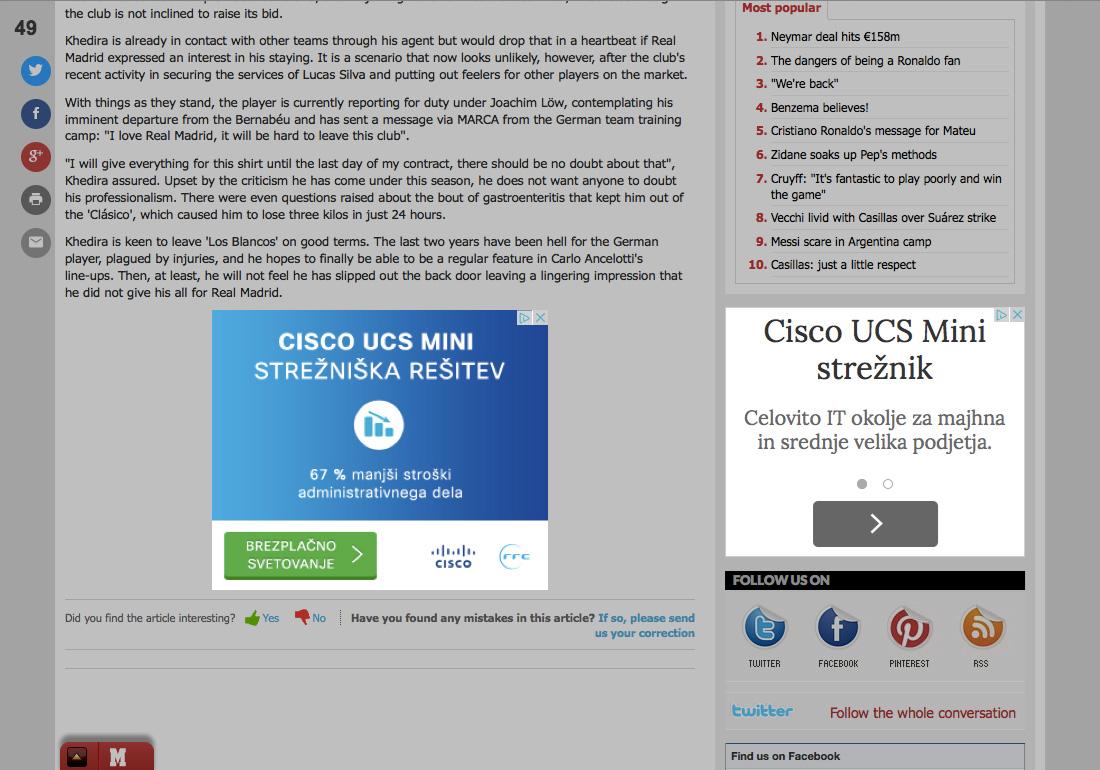 cisco ucs mini digitalna kampanja