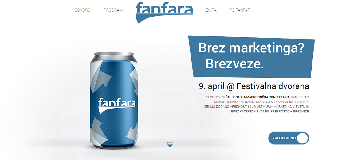 fanfara z marketingom kampanja