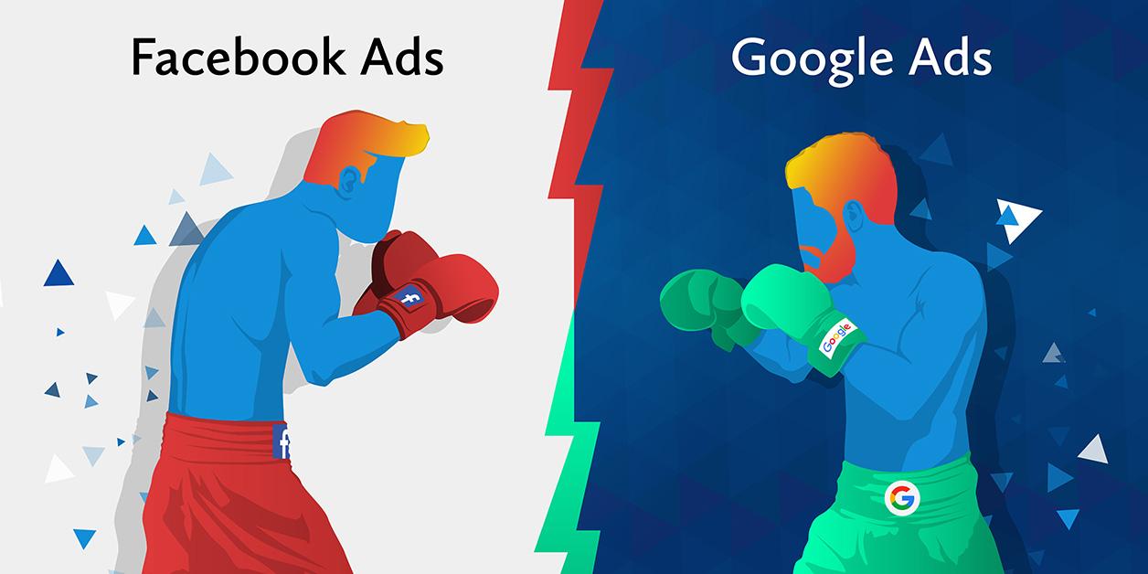facebook ali google oglasevanje