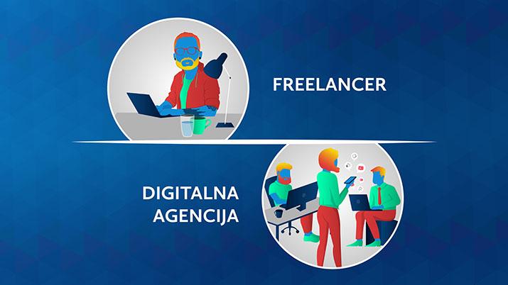 Izbira digitalne agencije ali freelancerja