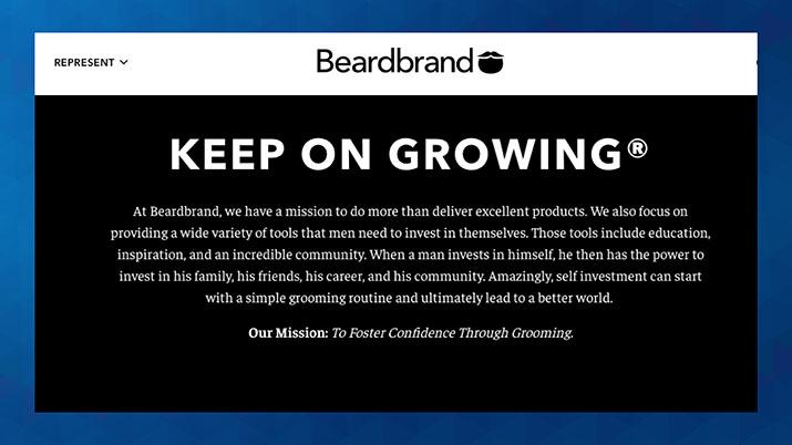 Bistvo blagovne znamke Beardbrand
