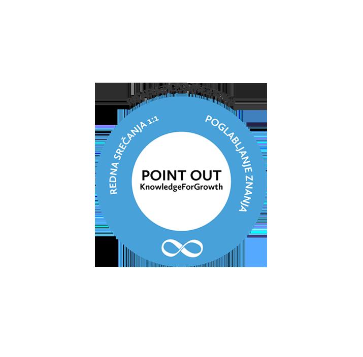 Razvoj zaposlenih v modelu POINT OUT KnowledgeForGrowth
