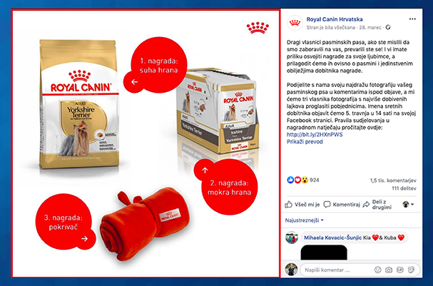 Nagradna igra Royal Canin