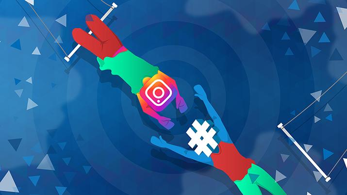 Hashtag strategija na Instagramu.