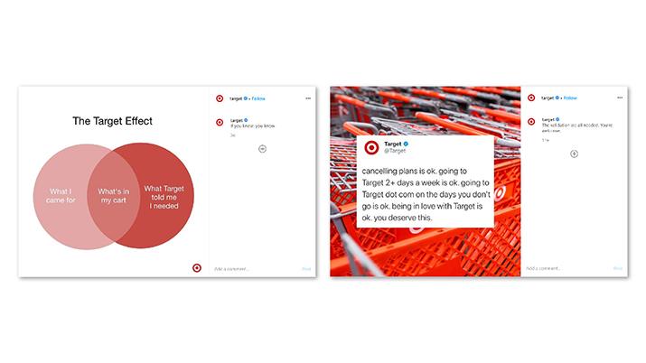 načini komuniciranja na spletu primer target