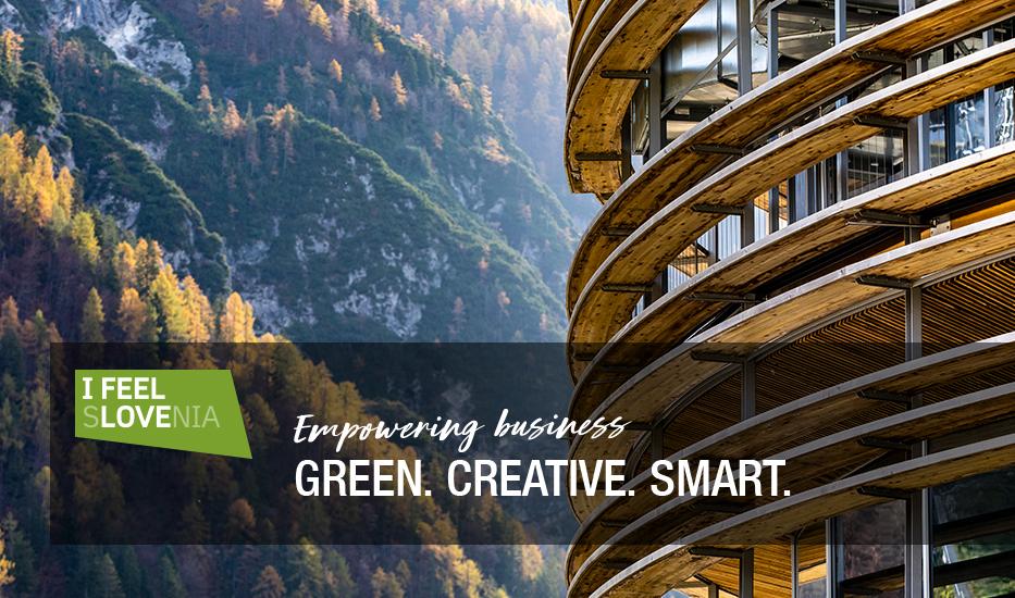 Globalan digitalna kampanja za SPIRIT Slovenija: I feel Slovenia. Green. Creative. Smart.